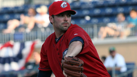 Justin Germano tossed his 11th career complete game and fifth shutout.