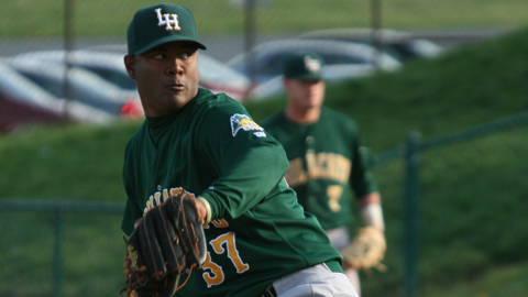 Eliecer Cardenas compiled a 4-3 record and a 0.79 ERA in the Carolina League.