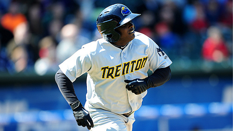 Ronnier Mustelier has 11 RBIs in his last 10 games for Trenton.